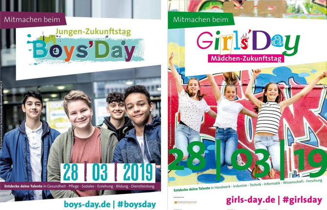 Girls' Day & Boys' Day 2019