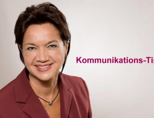 Kommunikations-Tipps von unserer Trainerin Monika Liebermann