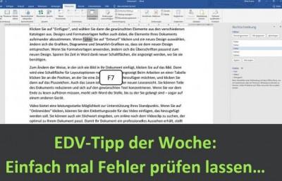 EDV-Tipp der Woche