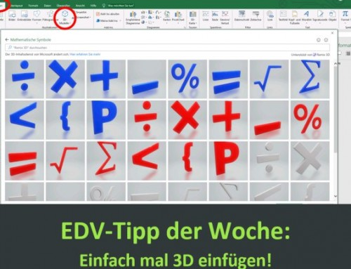 Tipps von unserem EDV-Trainer Mike Enders