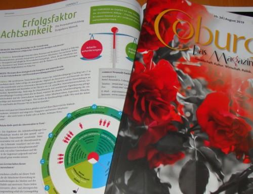 """Erfolgsfaktor Achtsamkeit – Die Personalentwicklung Perspektive Mensch – Beitrag in """"Coburger – Das Magazin"""""""