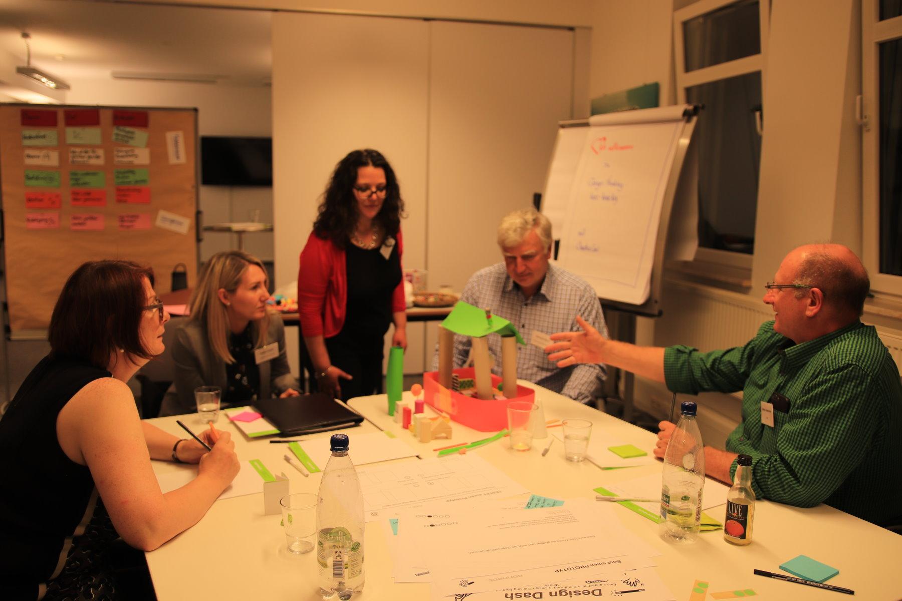"""Intensiv-Workshop zum Thema """"Design Thinking – kurz und knackig!"""""""