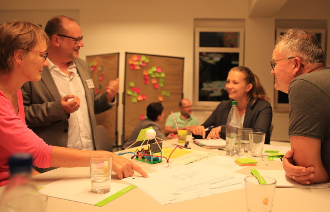 "Intensiv-Workshop zum Thema ""Design Thinking – kurz und knackig!"""